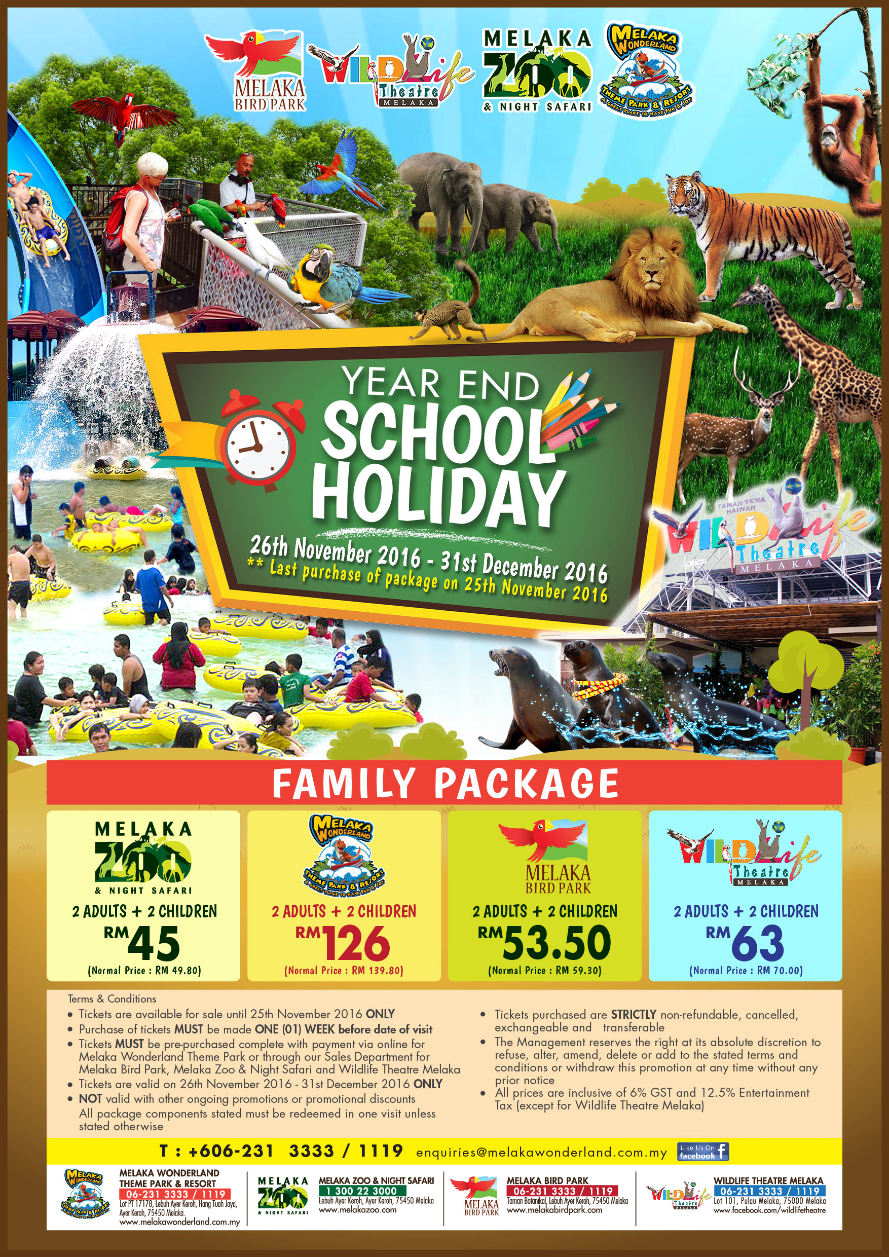my school holiday at melaka Comprehensive list of national and regional public holidays that are celebrated  in malacca, malaysia during 2018 with dates and information on the holidays.